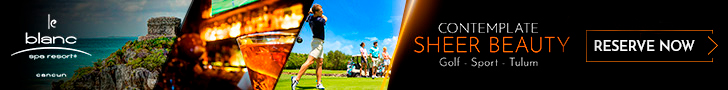 Enjoy at Le Blanc Spa Resort our activities and tours: Golf, Sport, Tulum and more.