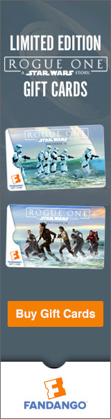 Limited Edition Rogue One Gift Cards