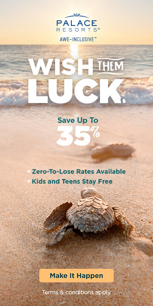 6th night free. Make up for missed travel. Up to 30% off all-inlusive luxury.