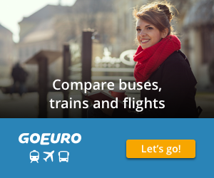 Go Euro. Flights, Trains and buses