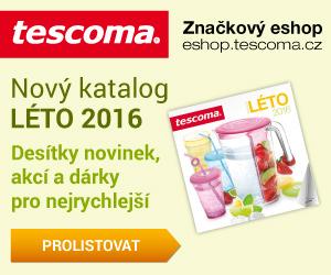 TESCOMA: Nový katalog LÉTO 2016 - novinky, akce, dárky.