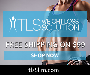 Image for (TLS) Free Shipping on $99 purchase of Weight Loss, Diet and Nutritional products at tlsSlim.com.  300x250