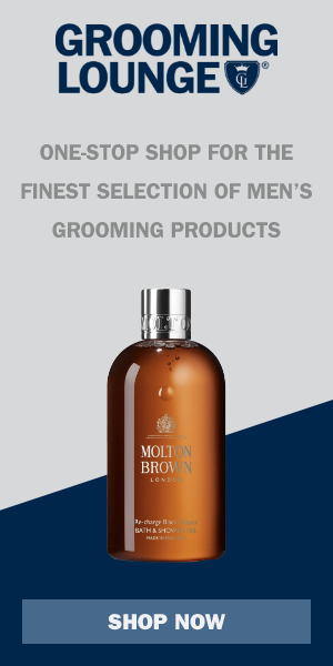 Grooming Lounge One-stop shop for the finest selection of men's grooming products.