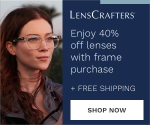 Enjoy 40% off lenses with frame purchase + free shipping