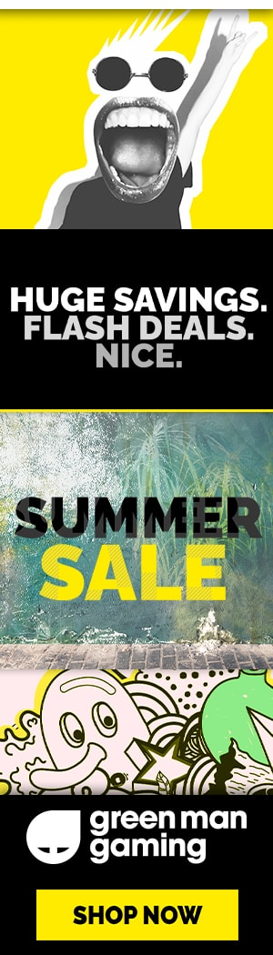 Shop the Summer Sale at Green Man Gaming