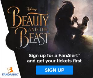 Fandango Beauty and the Beast FanAlert�