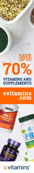 Save up to 70% on Vitamins & Supplements at eVitamins