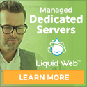 Liquid Web Heroic Support Dedicated Servers Banner