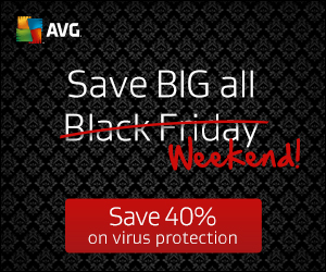 Don't wait in line: Get 40% off AVG right now!