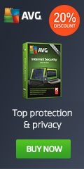Get 20% off on AVG Ultimate! Award-winning security and performance for you and your family.