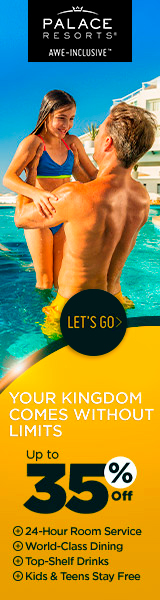 Warm up your winter. Up to 40% off to enjoy at Moon Palace Cancun