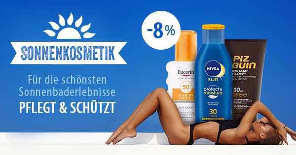 parfumcity.ch - Sonnenkosmetik