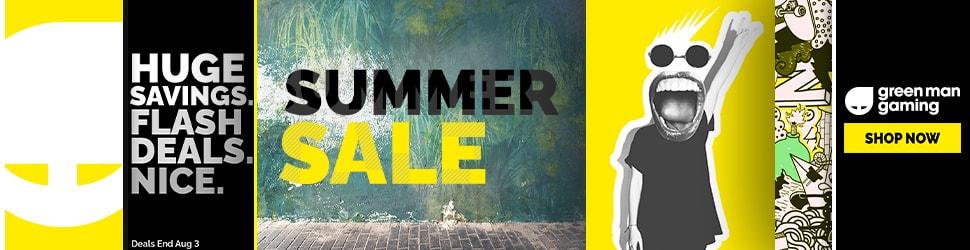 Shop the Summer Sale at Green Man Gaming