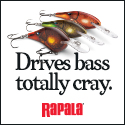 Rapala Bass Cray 125x125