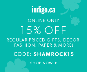 15% off with code SHAMROCK15