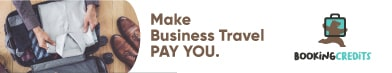 Business Travel Booking with Booking Credits