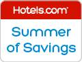 Hotels.com Canada: Summer of Savings! Save up to 40%! Book by 8/4/14, Travel by 8/18/14