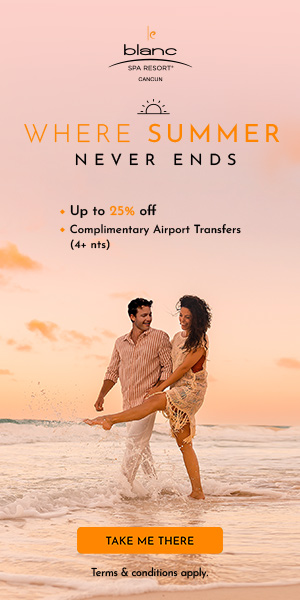 BOGO to Paradise! Buy one room, get one room free at Le Blanc Spa Resort.