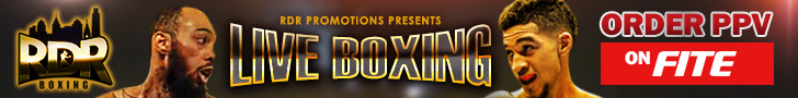Feb. 6 -RDR BOXING: Donald Smith v. William Foster