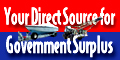 Your Direct Source for Government Surplus