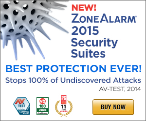 ZoneAlarm 2015 Product