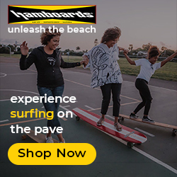 Original Hamboards - SurfSkate boards - Land Paddles