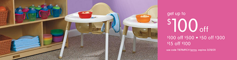 INFANT & TODDLER PRODUCTS ON SALE! Save Up To $100 OFF Plus Free Shipping On Orders Over $99!