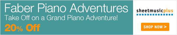 Faber Piano Adventures - 20% off