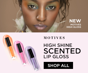 Image for (MC) New! Motives Cosmetics High Gloss Scented Lip Gloss.  Available in three colors and scents.  New Customers try it with 25% Off using code FIRST25OFF.  Shop Now!  (Valid thru 6/30)