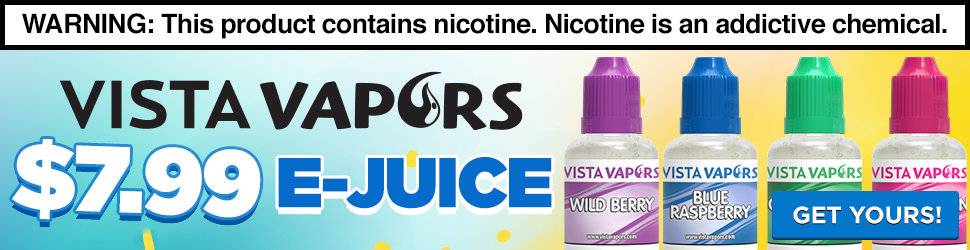E-juice starting at $7.99 for a 32ml!