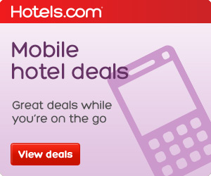 Hotels.com Mobile Hotel Deals. Great Deals while you're on the go!