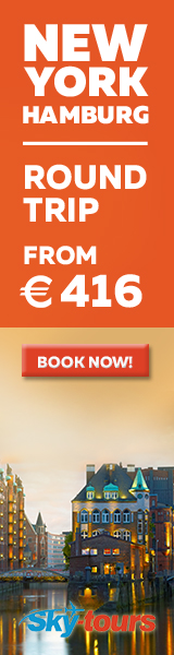 New York to Hamburg with Skytours from 416 EUR