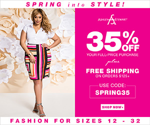 Ashley Stewart Coupon Code 35% Off