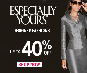 Up to 40% Off Designer Fashions at EspeciallyYours.com