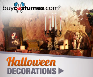 Set the right tone for your Halloween party with backdrops, scenery and decorations from Buycostumes