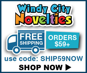 Windy City Novelties coupon code Free Shipping - 120% Lowest Price Guarantee