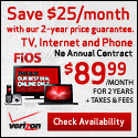 Ends 11/29 - Verizon FiOS Triple Play $89.99/month