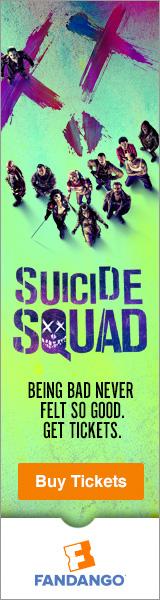 Fandango - Suicide Squad Tickets