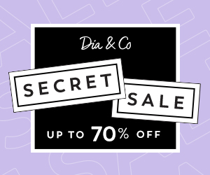 Dia&Co Secret Sale, Up to 70% Off! 2/7-2/10