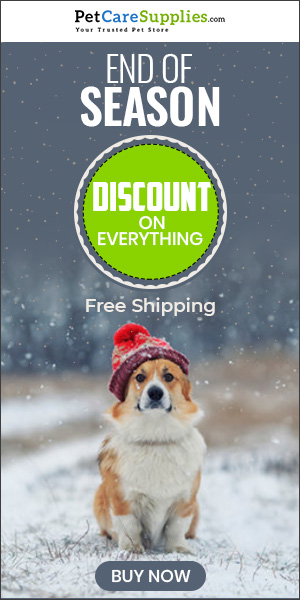 Winter Sale on Pet Supplies