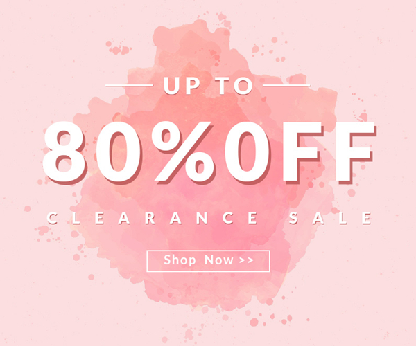 Up to 80% OFF Clearcance Sale 2016