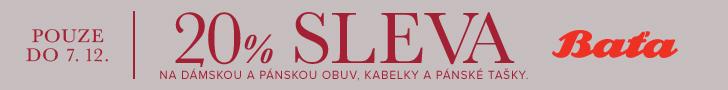 sleva Bata.cz - 20% sleva s kódem 'vikend20aff' na dámskou a pánskou obuv, kabelky a pánské tašky