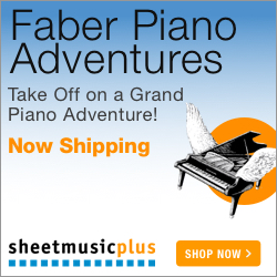 Faber Piano Adventures - Bestselling piano series for all ages and levels!