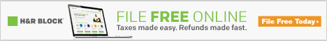 H&R Block Fast Refund 468x60