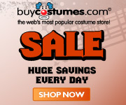 Take at least 60% on sale items from Buycostumes.com! Click here and save!