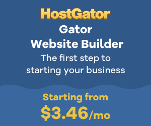 HostGator.com: 55% off Gator Website Builder
