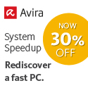 30% Off Avira System Speedup