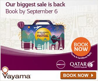 Vayama - Qatar Airways: our Biggest sale is back!