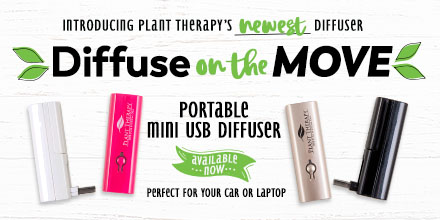 New at Plant Therapy! The Diffuse on the Move Diffuser!