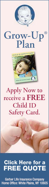 Free Child ID Safety Card when You Apply!